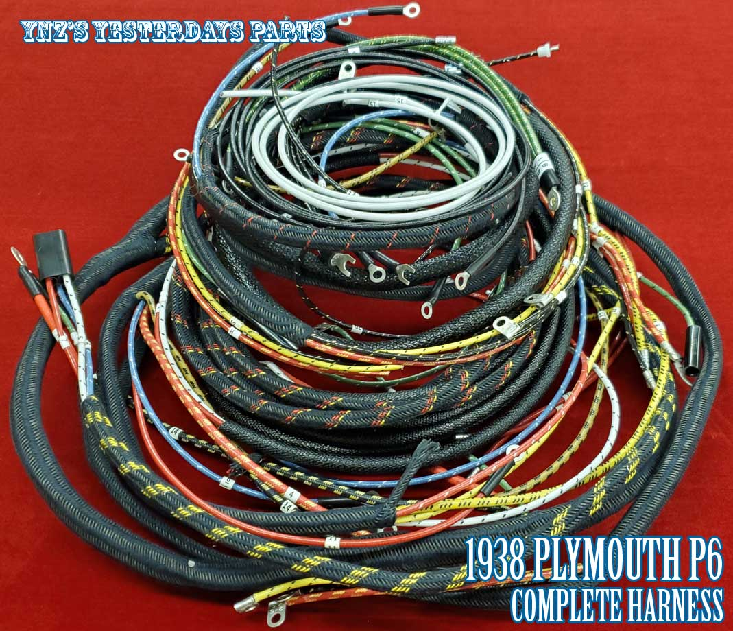 Plymouth Cars Wiring Harnesses